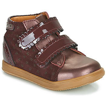 Shoes Girl Hi top trainers Little Mary CRISTIE Bordeaux