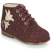 Shoes Girl Hi top trainers Little Mary MEIGE Bordeaux