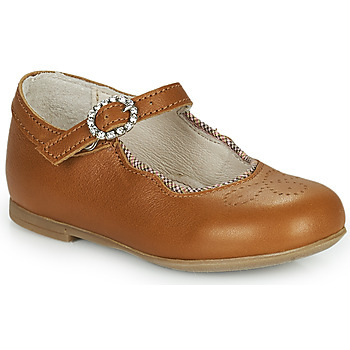Shoes Girl Flat shoes Little Mary AUBERIE Brown
