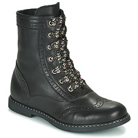 Shoes Girl Mid boots Little Mary LYSIANE Black