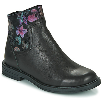 Shoes Girl Mid boots Little Mary ELIETTE Black