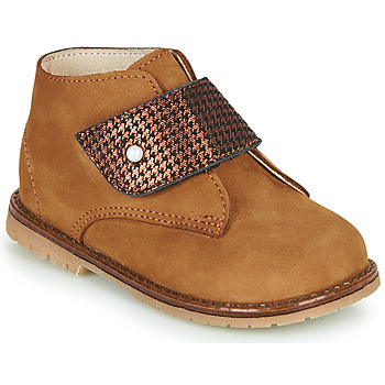 Shoes Girl Hi top trainers Little Mary JANYCE Brown