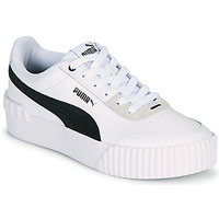 Shoes Women Low top trainers Puma CARINA White