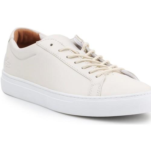 Shoes Men Low top trainers Lacoste 7-35CAM0159001 men's lifestyle shoes beige