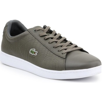 Shoes Men Low top trainers Lacoste 7-33SPM10373T2 men's sneakers olive green