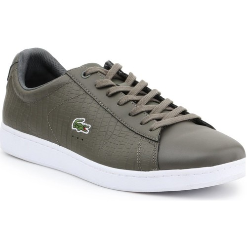 Shoes Men Low top trainers Lacoste 7-33SPM10373T2 men's lifestyle shoes olive green
