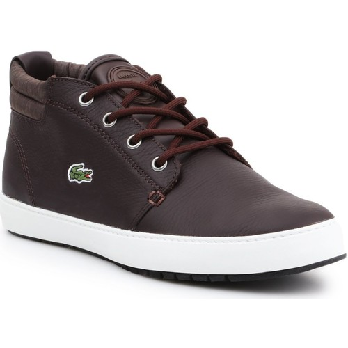 Shoes Women Hi top trainers Lacoste 7-28SPW1126D2 women's lifestyle shoes brown