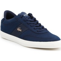 Shoes Women Low top trainers Producent Niezdefiniowany Lacoste Court-Master lifestyle shoes 7-37CMA0013J18 navy