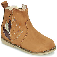 Shoes Girl Mid boots Little Mary KARRY Brown