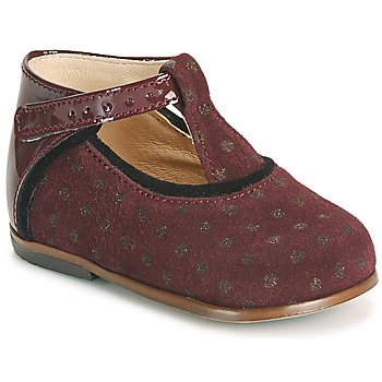Shoes Girl Hi top trainers Little Mary BETHANY Bordeaux