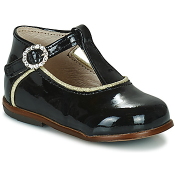 Shoes Girl Hi top trainers Little Mary BETHANY VVN NOIR DPF/ODEON