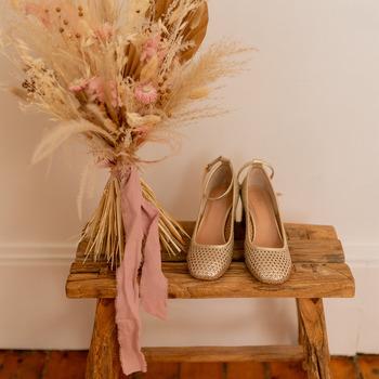Shoes Women Heels Céleste MIRABELLE Gold