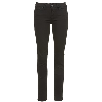 Clothing Women slim jeans Levi's 712 SLIM  black / Sheep