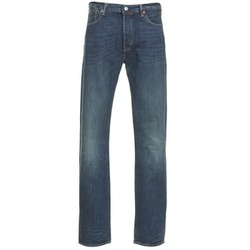 Clothing Men straight jeans Levi's 501 THE ORIGINAL Blue / Dark