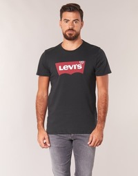 Clothing Men Short-sleeved t-shirts Levi's GRAPHIC SET IN Black