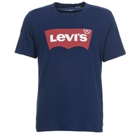 Clothing Men short-sleeved t-shirts Levi's GRAPHIC SET IN Marine