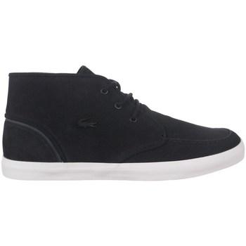 Shoes Men Hi top trainers Lacoste Sevrin Mid Black