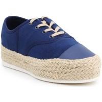 Shoes Women Espadrilles Lacoste Rene Platform Espa Stw Navy blue