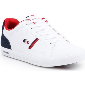 Shoes Men Low top trainers Lacoste Europa White, Black, Red