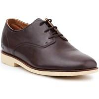 Shoes Men Derby Shoes Lacoste Crosley Prem Brown