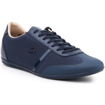 Shoes Men Low top trainers Lacoste Mokara Navy blue