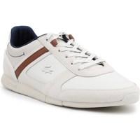 Shoes Men Low top trainers Lacoste Menerva White, Beige