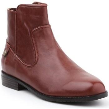 Shoes Women Ankle boots Lacoste Ingyenes Brown