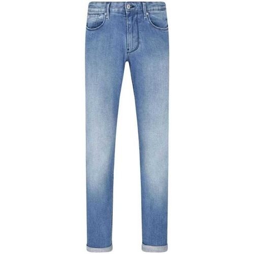 Clothing Men Slim jeans Armani 3H1J061D4DZ_0942stonewash blue