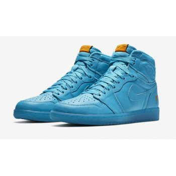 Shoes Hi top trainers Nike Air Jordan 1 Gatorade blue Lagoon Blue Lagoon/Blue Lagoon