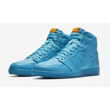 Shoes Hi top trainers Nike Air Jordan 1 Gatorade blue Lagoon Blue Lagoon/Blue Lagoon