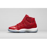 Shoes Hi top trainers Nike Air Jordan XI Gym Red Gym Red/Black-White