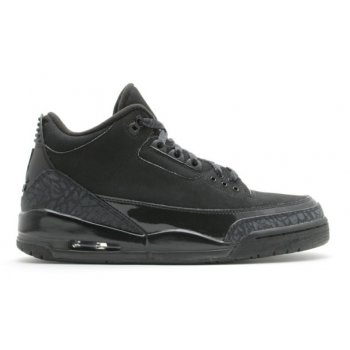 Shoes Low top trainers Nike Air Jordan 3 Black Cat Black/Black-Black