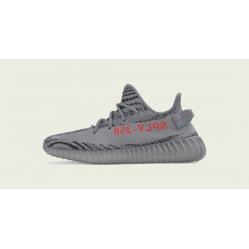 Shoes Low top trainers adidas Originals Yeezy Boost 350 V2 Beluga 2.0 Grey/Bold Orange/Dgh Solid Grey