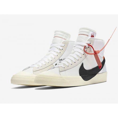 Shoes Hi top trainers Nike Blazer Mid x Off White OG White Off White