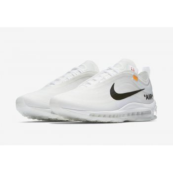 Shoes Low top trainers Nike Air Max 97 x Off-White Og White White / Cone / Ice Blue