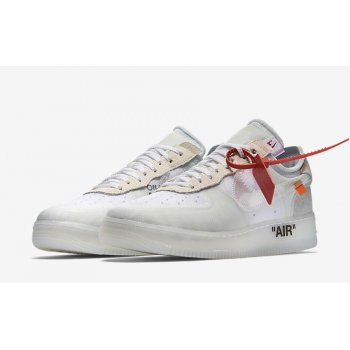 Shoes Low top trainers Nike Air Force 1 Low x Off-White OG White White/White-Sail