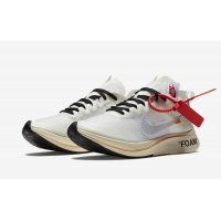 Shoes Low top trainers Nike Zoom Fly x Off-White OG White White/White-Muslin