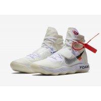 Shoes Hi top trainers Nike React Hyperdunk x Off-White Og White White/White-White