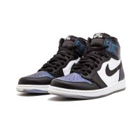 Shoes Hi top trainers Nike Air Jordan 1 High All Star Chameleon Black/Black-Metallic Silver-White