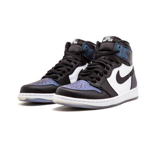 Shoes Hi top trainers Nike Air Jordan 1 High All Star Chameleon Black/Black-Metallic Silver-White