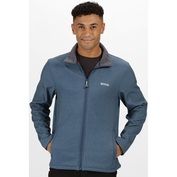 Clothing Men Coats Regatta CERA V RATIO PK Softshell Blue