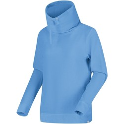 Clothing Women Sweaters Regatta HEPZIBAH Fleece Light Vanilla Blue Blue