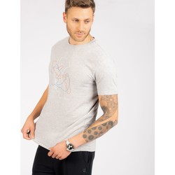 Clothing Men Short-sleeved t-shirts Dare 2b The Jenson Button Edit - Devout II Graphic T-Shirt Grey Grey