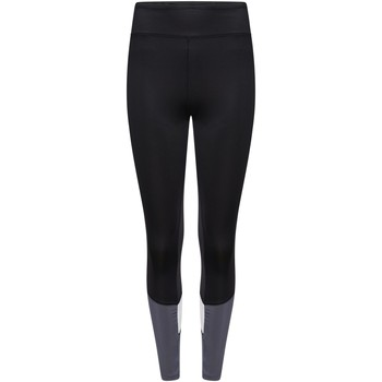 Clothing Women Leggings Dare 2b INFLUENTIAL Quick-Dry Tights Charcoal Grey Marl Black Black
