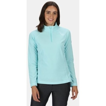 Clothing Women Fleeces Regatta Montes Lightweight Half-Zip Fleece Blue Blue