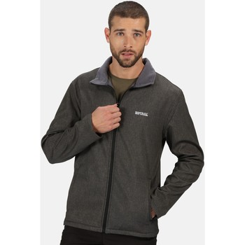 Clothing Men Coats Regatta CERA V RATIO PK Softshell Black