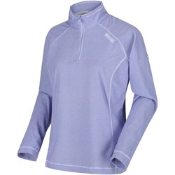 Clothing Women Fleeces Regatta Montes Lightweight Half-Zip Fleece Purple Purple