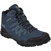 Shoes Men Mid boots Regatta Edgepoint Mid Waterproof Walking Boots Blue Blue