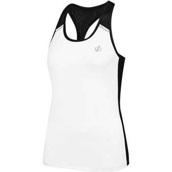Clothing Women Tops / Sleeveless T-shirts Dare 2b YOU'RE A GEM Wicking Vest White