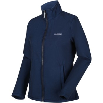 Clothing Women Fleeces Regatta CONNIE V Softshell Jacket Blue